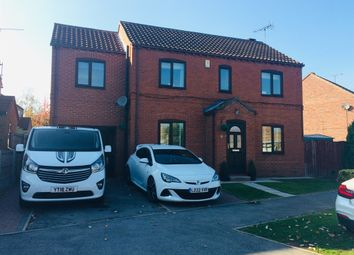 Thumbnail 4 bed detached house for sale in Summerfield Drive, Brotherton, Knottingley
