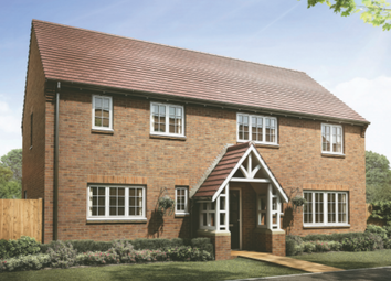 Thumbnail 4 bed property for sale in Stanford Way, Cawston, Rugby