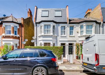 Thumbnail 3 bed flat for sale in Queensmill Road, Bishops Park, London