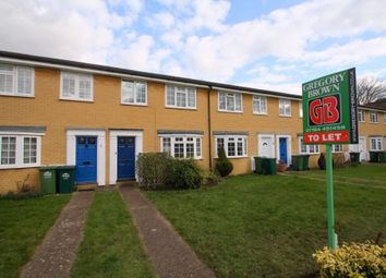 Thumbnail 3 bed terraced house to rent in Hawksway, Staines, Surrey