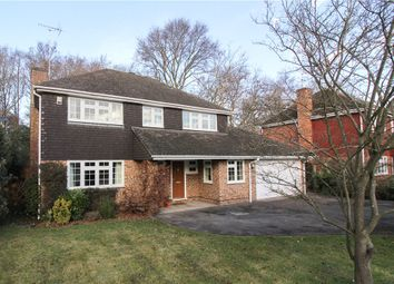 Thumbnail 4 bedroom detached house for sale in Mayflower Drive, Yateley, Hampshire