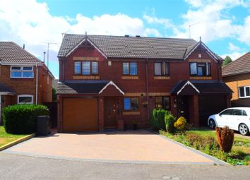 Thumbnail 3 bed semi-detached house for sale in Harcourt Way, Northampton