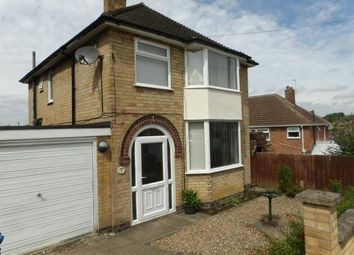 Thumbnail 3 bed detached house for sale in Sedgefield Drive, Thurnby, Leicester, Leicestershire