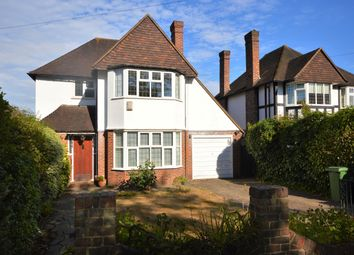 Thumbnail 3 bed detached house for sale in Manor Road South, Hinchley Wood, Esher