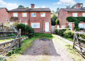 Thumbnail 2 bed semi-detached house for sale in Burnt Hill Road, Lower Bourne, Farnham