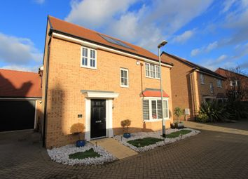 Thumbnail 4 bed detached house for sale in Claremont Crescent, Rayleigh
