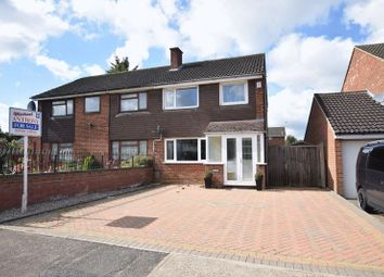Thumbnail 3 bed semi-detached house for sale in Celina Close, Bletchley, Milton Keynes