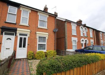 Thumbnail 2 bedroom end terrace house to rent in Newton Road, Ipswich