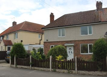 Thumbnail 2 bedroom semi-detached house for sale in Cross Street, Langold, Worksop