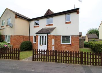 Thumbnail 3 bed semi-detached house for sale in Plattes Close, Shaw, Swindon