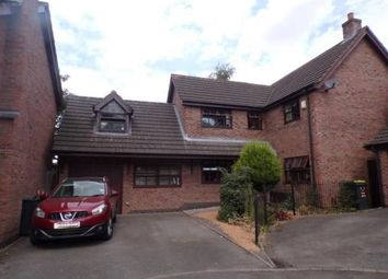 Thumbnail 4 bed detached house for sale in Oakfield Gardens, Atherstone, Warwickshire