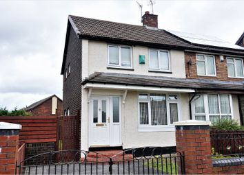Thumbnail 2 bedroom semi-detached house for sale in Bayswater Avenue, Sunderland