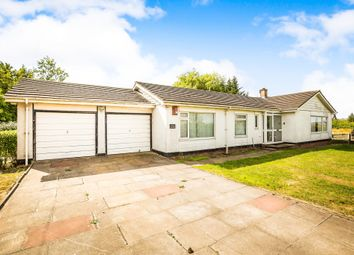 Thumbnail 4 bed detached bungalow for sale in Long Lane, Wettenhall, Winsford