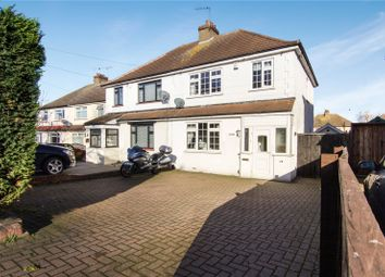 Thumbnail 3 bed semi-detached house for sale in Hall Road, Northfleet, Kent