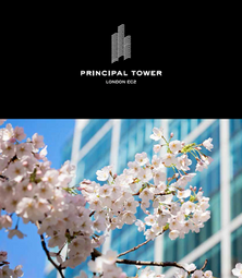 Thumbnail 1 bed flat for sale in Principal Tower - Liverpool Street, London
