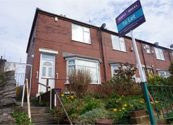 Thumbnail 3 bed end terrace house to rent in Glencoe Road, Sheffield