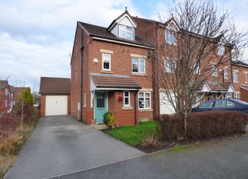 Thumbnail 4 bed town house for sale in The Spires, Eccleston