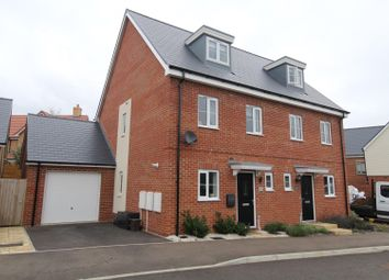 Thumbnail 3 bed town house for sale in Tear Crescent, Potton, Sandy