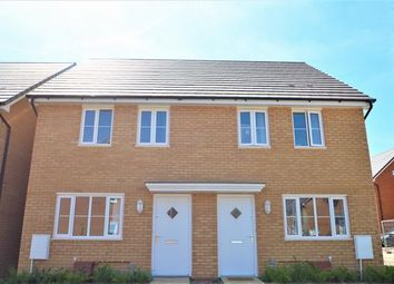 Thumbnail 2 bedroom semi-detached house for sale in Greystone Walk, Cullompton