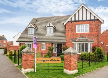 Thumbnail 4 bed detached house for sale in Bosworth Way, Leicester Forest East
