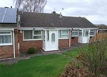 Thumbnail 1 bed terraced bungalow for sale in Ryan Close, Sinfin, Derby