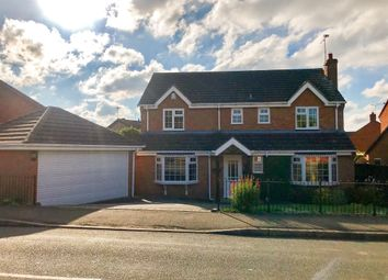 Thumbnail 4 bedroom detached house for sale in Foston Gate, Wigston