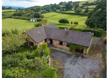Thumbnail 4 bed detached bungalow for sale in Trostrey, Usk