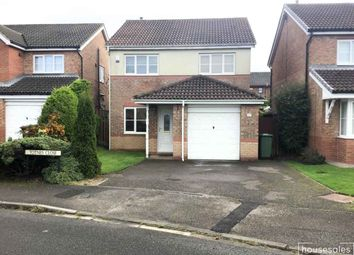 Thumbnail 3 bed detached house for sale in Totnes Close, Hartlepool