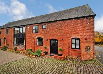 Thumbnail 4 bed barn conversion for sale in West Cross Lane, Mountsorrel, Loughborough