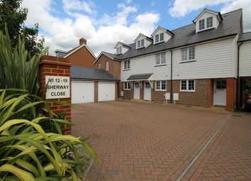 Thumbnail 3 bed terraced house to rent in Sherway Close, Headcorn, Ashford