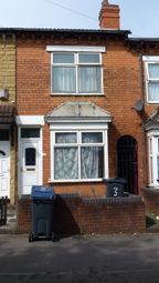Thumbnail 3 bed terraced house for sale in Third Avenue, Bordesley Green, Birmingham, West Midlands