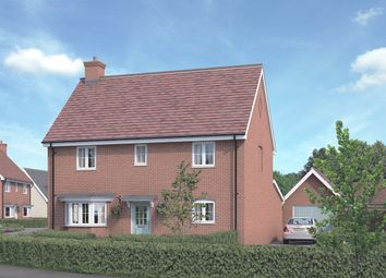 Thumbnail 4 bedroom detached house for sale in The Spruce At St Luke's Park, Runwell Road, Runwell, Essex