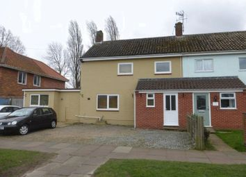 Thumbnail 3 bedroom semi-detached house for sale in Harris Avenue, Lowestoft