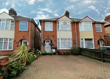 Thumbnail 3 bed property for sale in Dales View Road, Ipswich, Suffolk