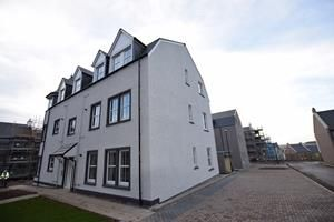 Thumbnail 2 bed flat to rent in 1D Castle Meadow, Ellon