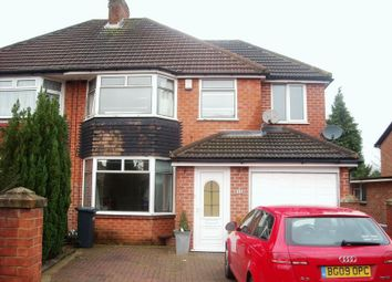 Thumbnail 4 bedroom semi-detached house to rent in Fernhill Road, Solihull