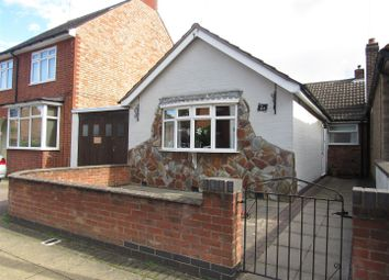 Thumbnail 2 bed detached bungalow for sale in Co-Operation Street, Enderby, Leicester