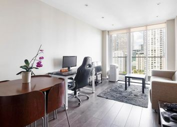 Thumbnail 1 bedroom flat to rent in Ability Place, Canary Wharf