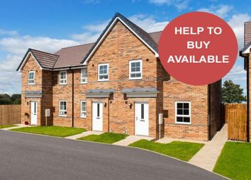 "Thumbnail 3 bedroom end terrace house for sale in ""Palmerston"" at Firfield Road, Blakelaw, Newcastle Upon Tyne"