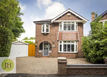Thumbnail 3 bed detached house for sale in Dean Close, Wilmslow