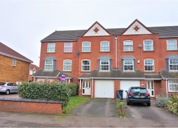Thumbnail 4 bedroom town house for sale in Tong Street, Walsall