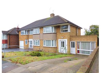 Thumbnail 3 bed semi-detached house for sale in Commissioners Road, Rochester