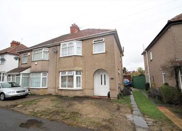 3 bed semi-detached house for sale in North Hyde Road, Hayes, Middlesex UB3