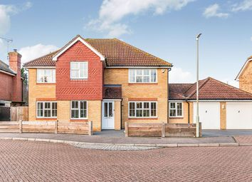 Thumbnail 4 bed detached house for sale in Kendal Meadow, Chestfield, Whitstable