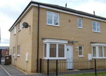 Thumbnail 1 bedroom end terrace house to rent in Apollo Avenue, Cardea, Stanground, Peterborough