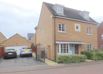 Thumbnail 5 bed detached house for sale in Oliver Road, Hampton Vale, Peterborough, Cambridgeshire