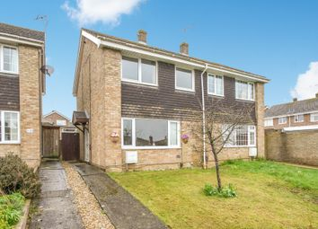 Thumbnail 3 bedroom semi-detached house for sale in Farmers Close, Witney, Oxfordshire