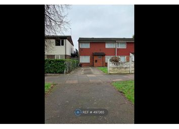 Thumbnail 3 bed end terrace house to rent in Bromford Drive, Birmingham