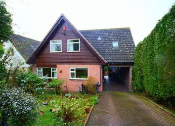 Thumbnail 4 bed detached house for sale in Hillwood Road, Madeley, Crewe