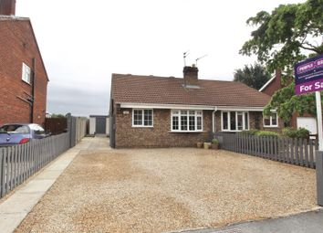 Thumbnail 2 bed semi-detached bungalow for sale in St. Marys Avenue, Hemingbrough